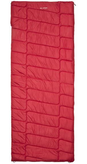 VAUDE Navajo 500 XL Syn Sovsäck XL röd